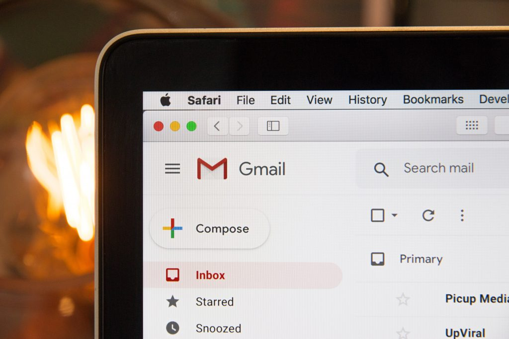 gmail used on the phone